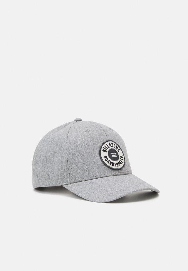 WALLED SNAPBACK UNISEX - Gorra - heather grey