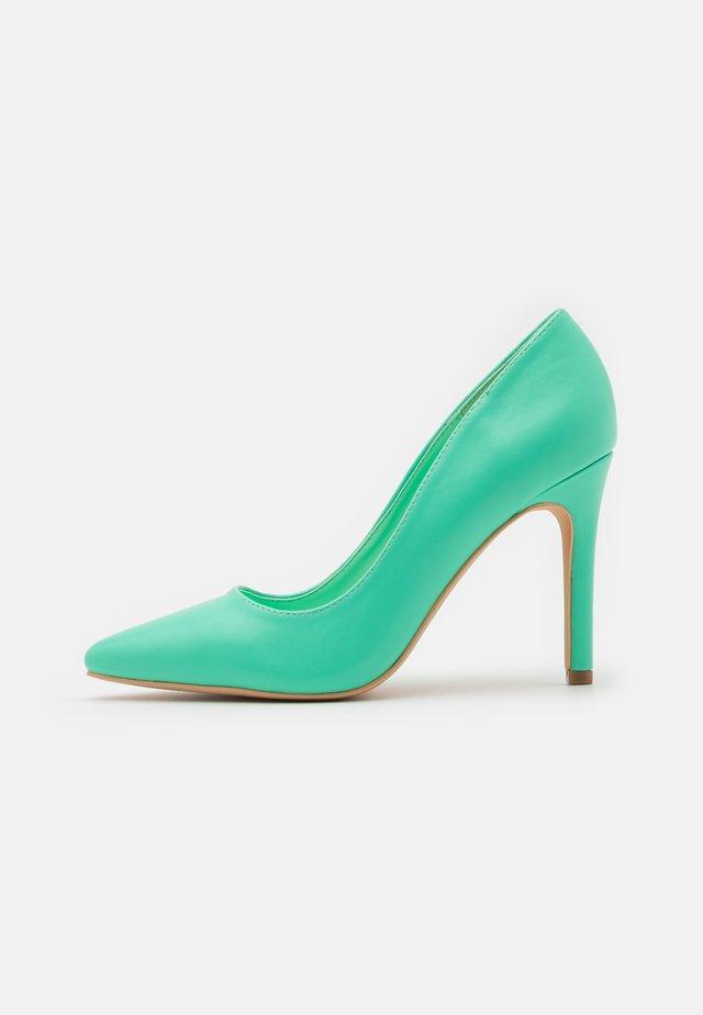 Classic heels - mint green