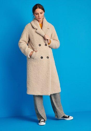 BORG  - Winter coat - stone