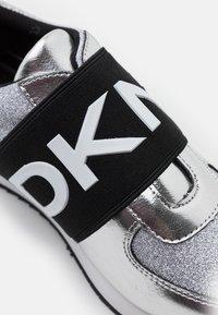 DKNY - MARLI - Slip-ons - silver - 6