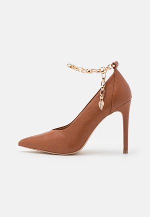 PAISELY - High Heel Pumps - tan