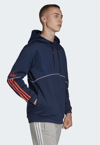 adidas Originals - OUTLINE HOODIE - Bluza z kapturem - blue - 2