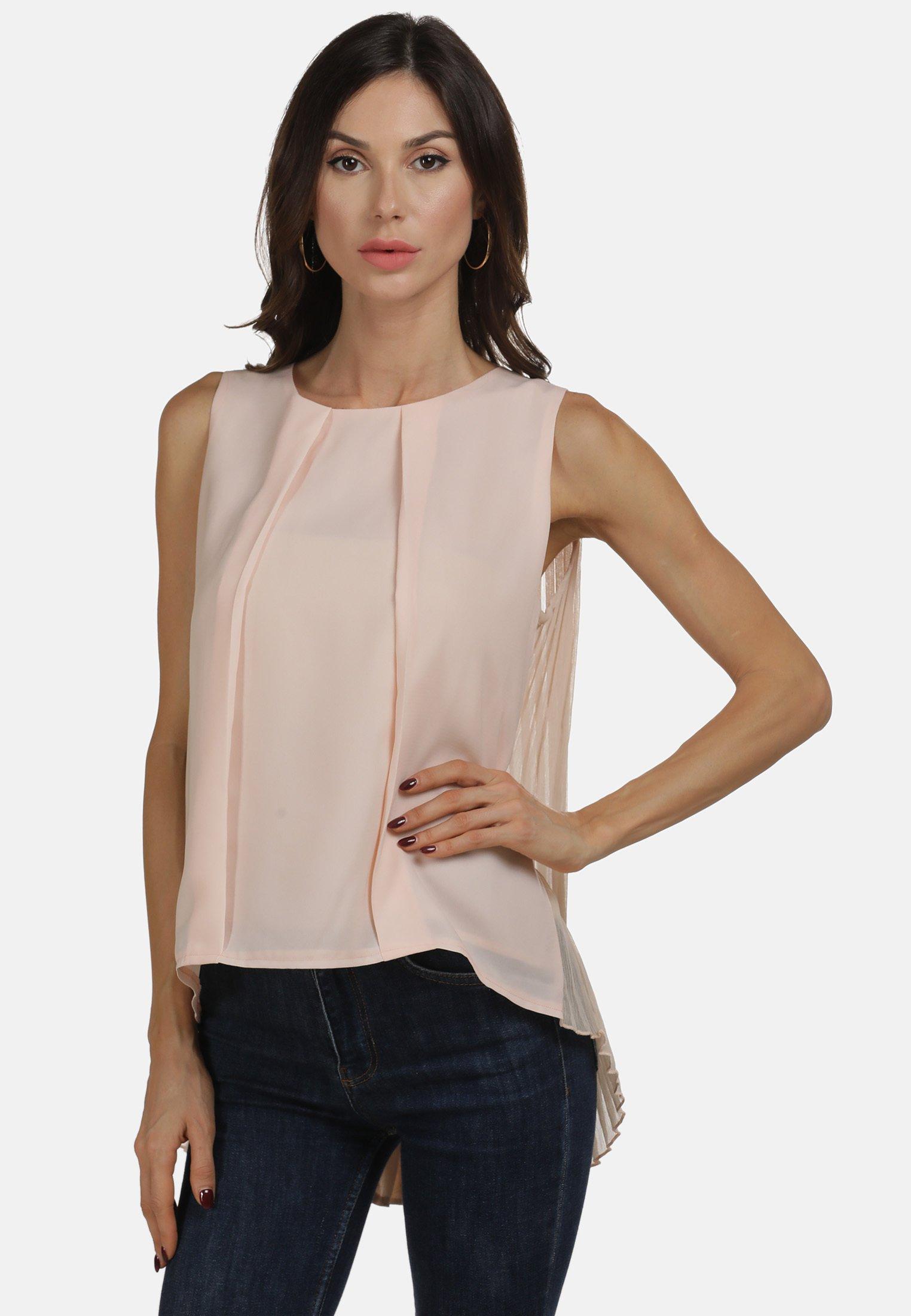 faina Blouse - nude - Tops & T-shirts Femme 1BcdB