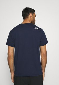 The North Face - BEREKELY CALIFORNIA TEE - Print T-shirt - aviator navy - 2