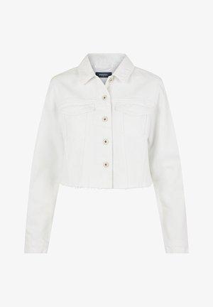Spijkerjas - bright white