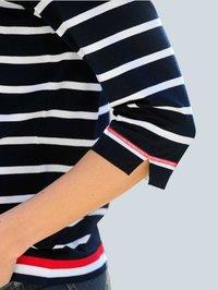 Alba Moda - Long sleeved top - marineblau,weiß,rot - 3