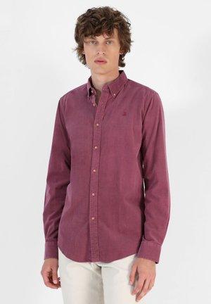 CORDUROY - Shirt - burgundy