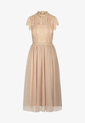 COCKTAILKLEID - Cocktail dress / Party dress - beige