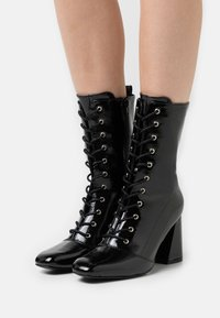 Glamorous - Lace-up ankle boots - black - 0