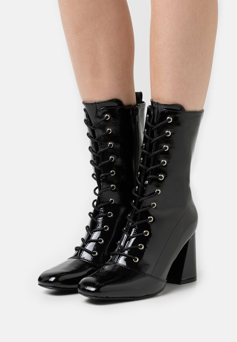 Glamorous - Lace-up ankle boots - black