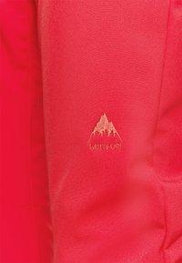Burton - IVY OVER BOOT - Snow pants - hibiscus pink - 6