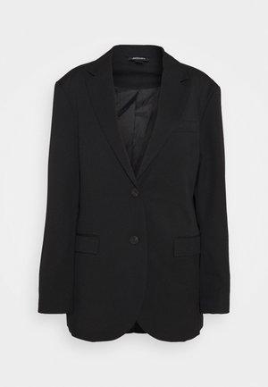 BLUSH SCALE UP - Blazer - black dark