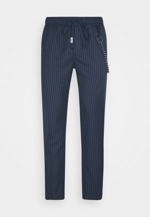 SCANTON PINSTRIPE TRACK PANT - Pantalon classique - twilight navy