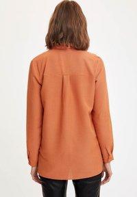 DeFacto - Button-down blouse - orange - 1