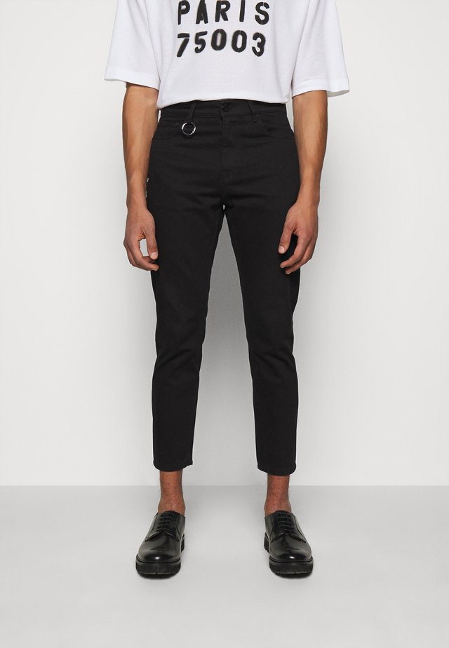 SPACE UNISEX - Jeans Straight Leg - black