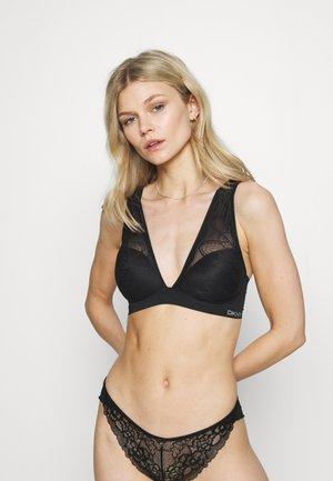 WIRELESS BRA COMFORT - Triangle bra - black