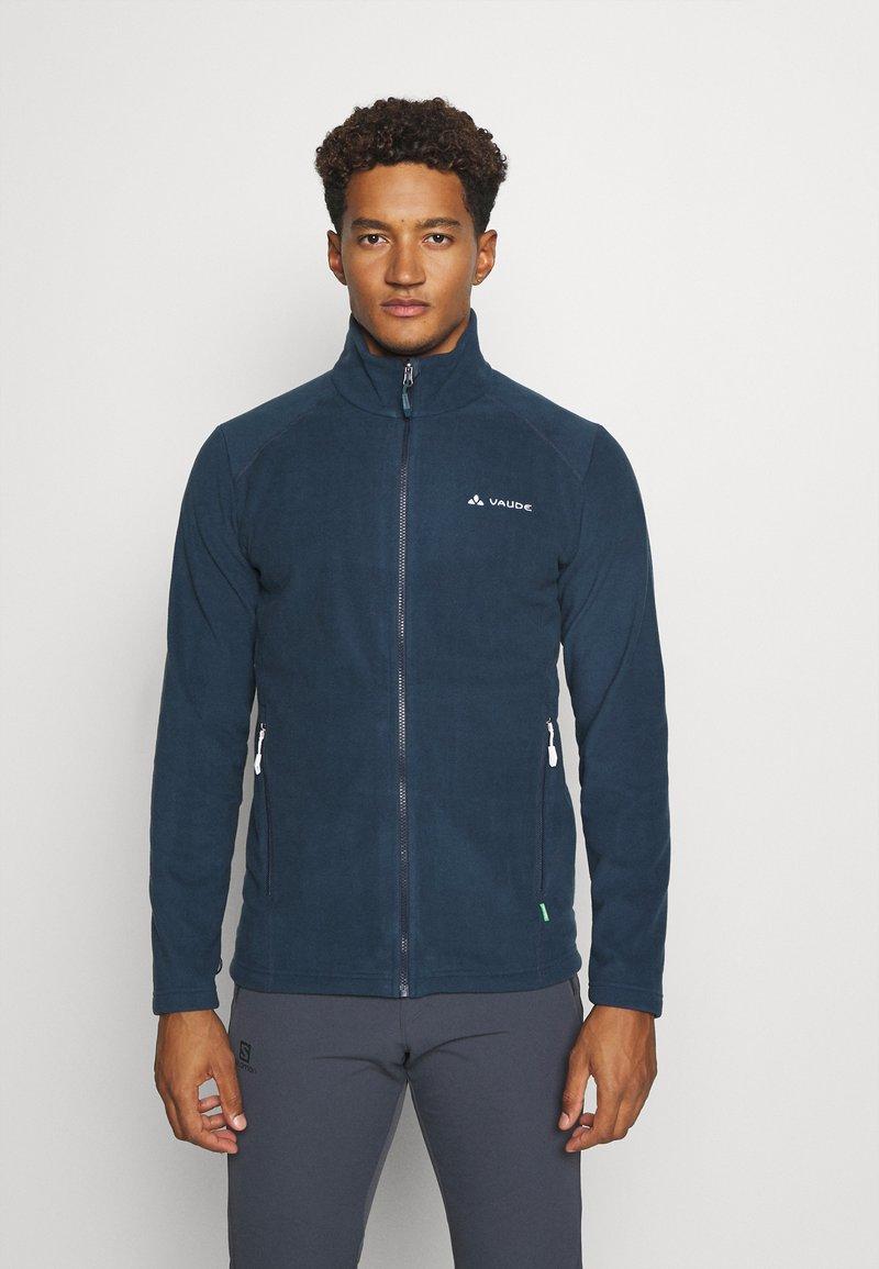 Vaude - MENS ROSEMOOR JACKET - Fleece jacket - steelblue