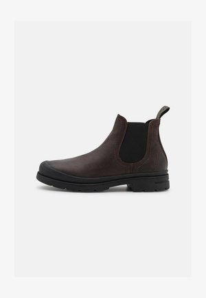 BUTTON - Classic ankle boots - dark brown