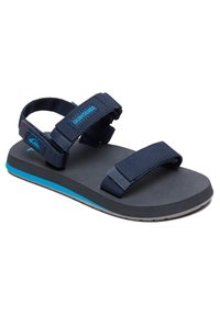 Quiksilver - MONKEY CAGED - Walking sandals - blue/grey/blue - 2