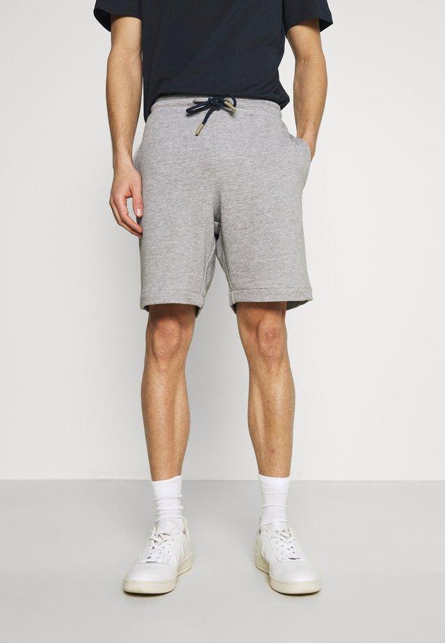 SLHMICAH - Shorts - light grey melange