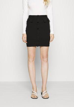 ILARIA SKIRT - Pencil skirt - jet black