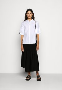 3.1 Phillip Lim - POPLIN BLOUSE SHANKS - Košile - white - 1