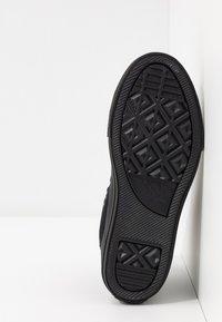 Converse - CHUCK TAYLOR ALL STAR  - Sneakers hoog - black monochrome - 5