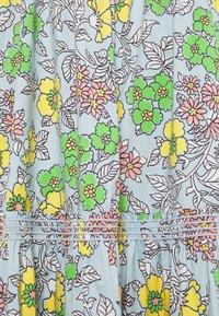 Tory Burch - PRINTED TIE SHOULDER DRESS - Vapaa-ajan mekko - wallpaper - 7