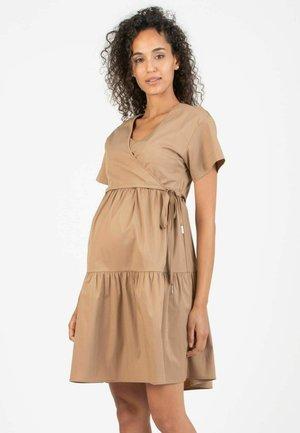ADELE - Korte jurk - leather