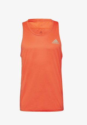 OWN THE RUN SINGLET - Funktionstrøjer - red