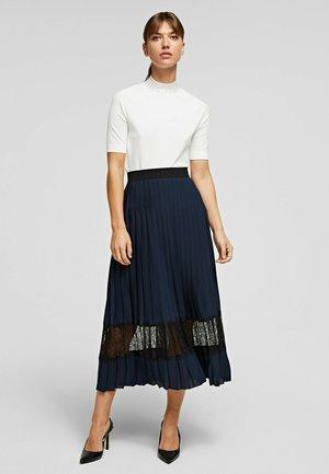 Długa spódnica - navy/black