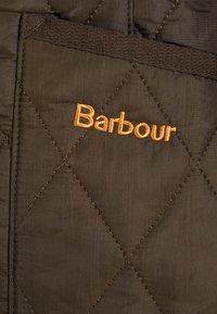 Barbour - BETTY INTERACTIVE LINER - Waistcoat - dark olive - 4