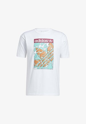SUMMER TONGUE LABEL T-SHIRT - Camiseta estampada - white