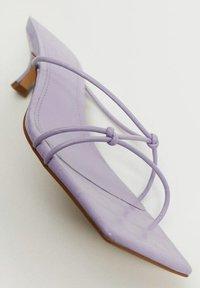 Mango - SIMILAR - Sandals - lila - 5