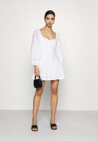 Bec & Bridge - HENRIETTE MINI DRESS - Sukienka letnia - ivory - 1