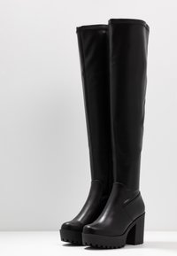 Even&Odd - Boots med høye hæler - black - 4