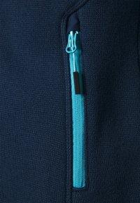 CMP - WOMAN FIX HOOD JACKET - Fleecejakker - blue pool - 2