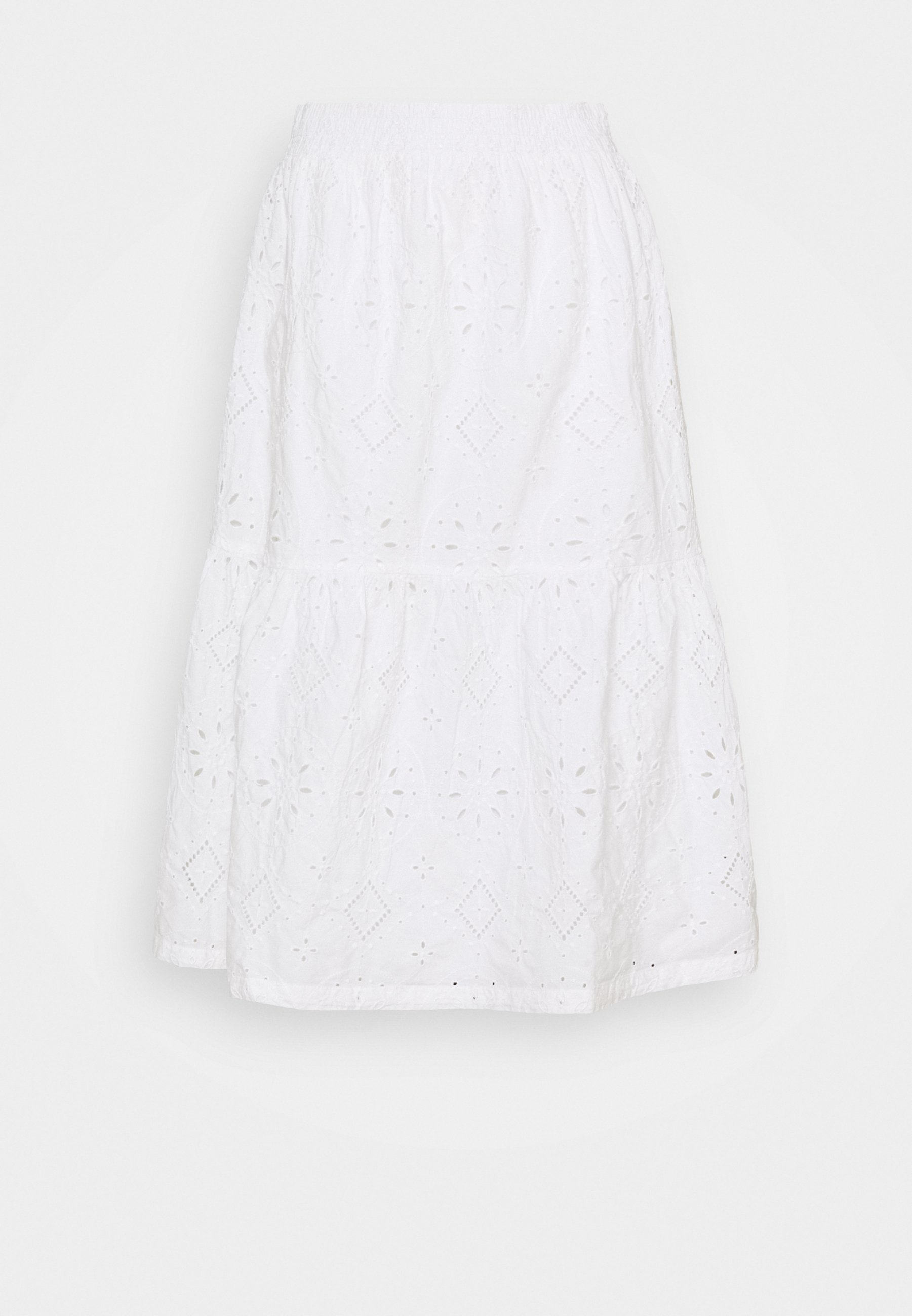 Women EYELET MIDI SKIRT - A-line skirt