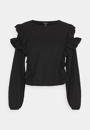 RINDA BLOUSE - Bluser - solid black