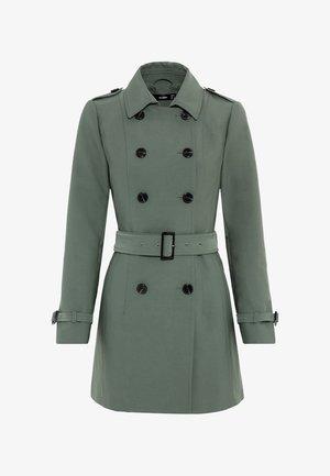 Trenchcoat - seegrün