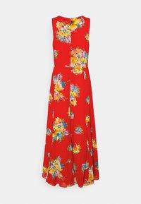 NOREHAN SLEEVELESS CASUAL DRESS - Maxi dress - bright hibiscus/multi