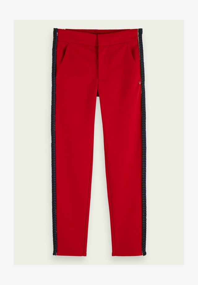 Tracksuit bottoms - reef red