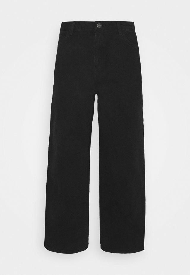 WIDE LEG - Jeans baggy - black