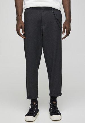Pantaloni - mottled dark grey