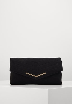 STITCHED BAR  - Clutch - black