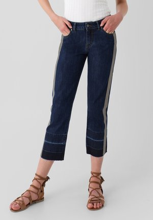 PANTALON DENIM BANDA FOIL - Relaxed fit jeans - indigo