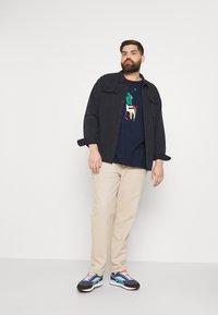 Polo Ralph Lauren Big & Tall - SHORT SLEEVE - Print T-shirt - newport navy - 1