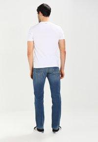 Napapijri - SENOS CREW - T-shirt - bas - bright white - 2