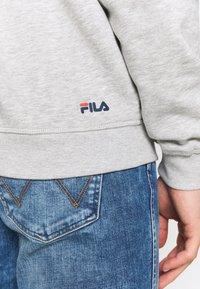Fila - PURE HOODY - Hoodie - light grey melange - 4