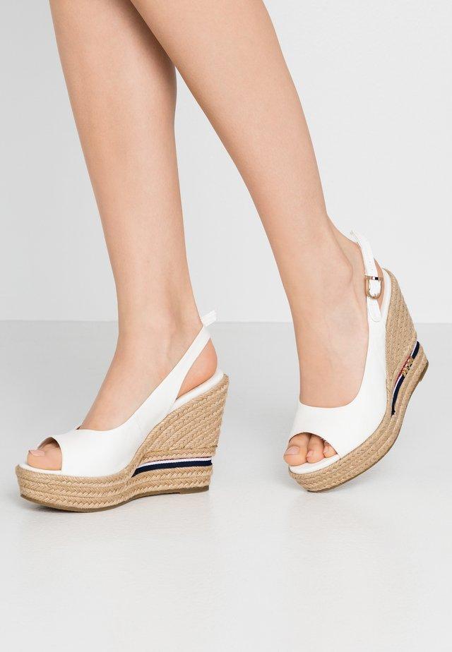 AFRODITE - Sandales à talons hauts - white